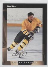 1991 Star Pics Autographs Autographed #33 Shane Peacock Pittsburgh Penguins Auto