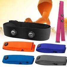 Soft Fabric Heart Rate Monitor Sports Chest Belt Strap for Polar Wahoo Garmin AD