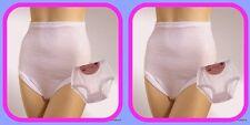 """""""Ultimate""""Cuff Leg 100% Delicate Pointelle Cotton Airtex High Leg Brief 3 pack"""