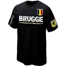 T-Shirt BRUGGE VLAANDEREN FLANDRE BELGIË BRUGES BELGIUM ultra Maillot Belgique