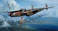 """""""No Saki Tonight"""" - John Shaw - World War II P-38 Aviation Art"""