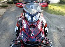 Skidoo REV XP wrap 2008 - 2018 Snowmobile Graphics 24 mil racing vinyl #3500 Red