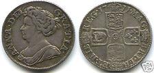 ROYAUME-UNI ANNE (1702-1714) SHILLING ARGENT 1711 RARE!