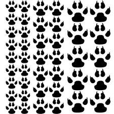 Sticker Planche Empreintes Pattes Griffes, Animaux 30x30cm, 18 coloris (EMP005)