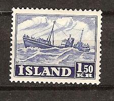 Iceland # 266 Mth Fishing Trawler Ship Ocean