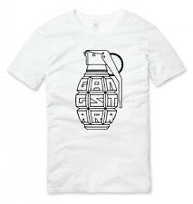 Gangstarr Old School Hip Hop T Shirt White