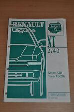Werkstatthandbuch RENAULT Laguna NT 2740 MR 307 Neues ABS TEVES MK20i 1997