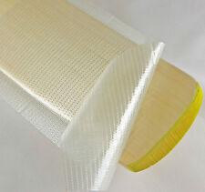 Cricket Bat Anti Scuff Protection Safety Clear Fibre Sheet Plain Roll 50m