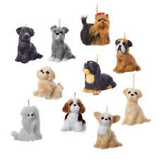 Plush Dog Ornaments