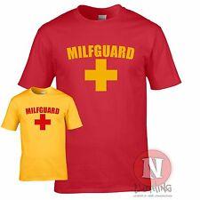 MILF guard T-shirt funny lifeguard holiday stag Baywatch Torquay Bondi beach