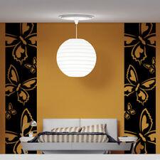 Sticker Décoration Frise Geant XXL Papillons, 125x30 cm à 250x60 cm (PP001)