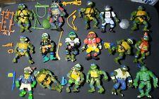 LEONARDO TMNT 1988-1994 Leo Your Choice of 17 Different Figures Huge Lot