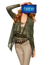 Shirtjacke ASHLEY BROOKE by heine. Oliv. NEU!!! KP 59,90 € SALE%%%