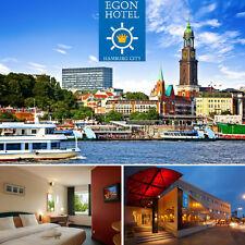 Städtereise Hamburg in TOP Lage 2-6 Tage im Egon Hotel City Kurzurlaub Kurzreise