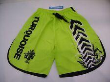 Turquoise Pantaloncino Shorts Beach Tennis Uomo Lime Green Verde