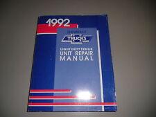 Werkstatthandbuch Chevrolet Truck S-10 Pickup von 1992