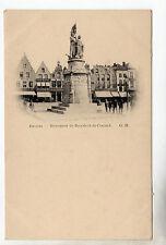 Monument de Breydel & de Coninck - Bruges Postcard c1899