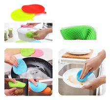 Silikon Schwamm Küche Waschen Reinigung Spülschwamm Putzschwamm Topfuntersetzer