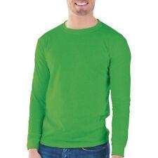 Gildan Mens Classic Long Sleeve T-Shirt Irish Green   --A1--