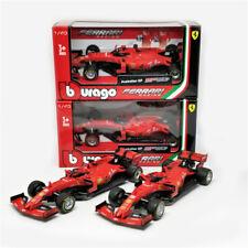 Bburago 1:43 F1 2019 Ferrari Team SF90 #5 S.Vettel #16 C.Leclerc Diecast Racing