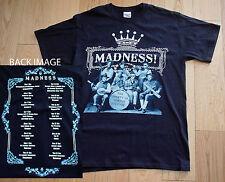 MADNESS UK CONCERT TOUR T SHIRT 2009 X LARGE NEW