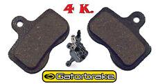 Gatorbrake ( Alligator ) 4 Kolben Fahrrad Bremsbeläge in 4 Komponenten  NEU