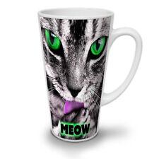 Meow Kitty Paw Cute Cat NEW White Tea Coffee Latte Mug 12 17 oz   Wellcoda