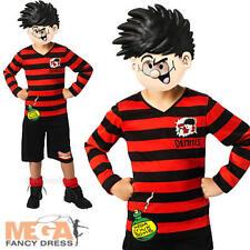 Daniel el Travieso edad 5-10 Día Mundial Del Libro Niños Vestido Elaborado Disfraz Childs Niños