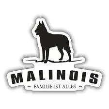 Wetterfester Aufkleber Malinois Hunde Dogs Rasse größe 15 oder 52 cm