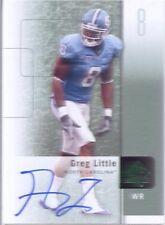 greg little rookie rc auto autograph browns tarheels unc college spa 2011