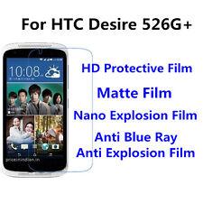 3pcs For HTC Desire 526G+ Matte/High Clear/Nano Explosion/Anti Blue Ray Film
