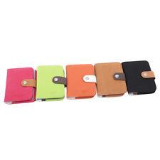 Mini Vintage Matte leather Credit Card Holder Business Card Holder Wallet G
