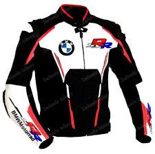 BMW Biker Lederjacke Herren MOTOGP Leder Biker Jacke BMW Motorrad Lederjacken