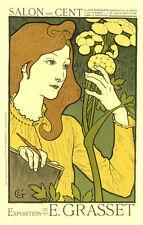 Vintage Français Style Art Nouveau shabby chic imprimés & AFFICHES 126 A1, A2,