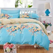 Lux 4pcs housse de couette ensemble literie parure de lit couvre lit agréable