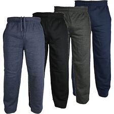 APRI in basso Elastico in vita in Pile Pantaloni sportivi gamba: 28 30 32 Casual Lounge Pants