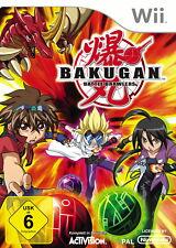 Bakugan: Battle Brawlers (Nintendo Wii, 2009, DVD-Box)