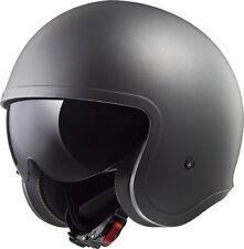 LS2 of599 SPITFIRE mat TITANE ouvert Profile Bas casque moto