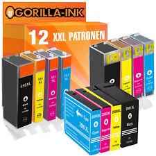 12x Patronen für Canon PGI520 PGI525 PGI550 PGI570 PGI580 PG1500 PG2500