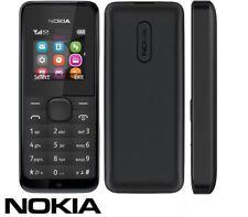 Brand New NOKIA 105 Dual Sim Free Unlocked To All Network Cheap Basic Phone UK