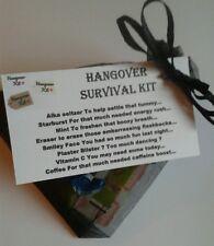 HANGOVER Survival Kit - Stag Hen Bride To Be Wedding Fun Novelty Gift Keepsake