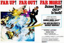 On Her Majesty's Secret Service - James Bond - 1969 - Movie Poster
