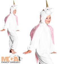 Unicorn Girls Fancy Dress Animal Pony Fairy Tale Book Day Kids Childrens Costume