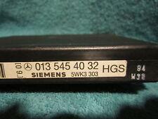 SHIPS SAME DAY! Mercedes 0135454032 Transmission Control Module    60 DAY RETURN