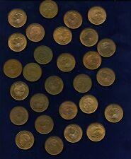 MEXICO ESTADOS UNIDOS  1957-1967  10 CENTAVOS COINS, GROUP LOT OF (28)!