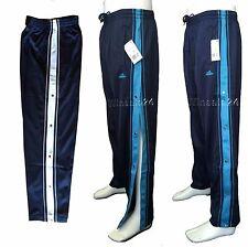 Luftige Sporthosen glänzend mit Seiten Knöpfen Gibsbein Reha Hosen