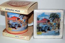 Ferguson T20 Vintage Tractor China Mug &/or Marble Coaster Farming xmas Gift