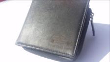 VW Golf Mk5 engraved Leather Wallet (merchandise gift present keyring holder)