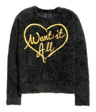 H&M Pullover Gr. XS, S, M, L  schwarz *NEU!*
