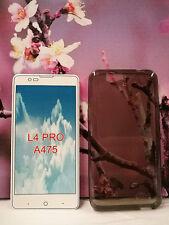 Telstra 4GX HD/ZTE Blade A475/L4 Pro TPU Gel Jelly Case Cover Skin + SP
